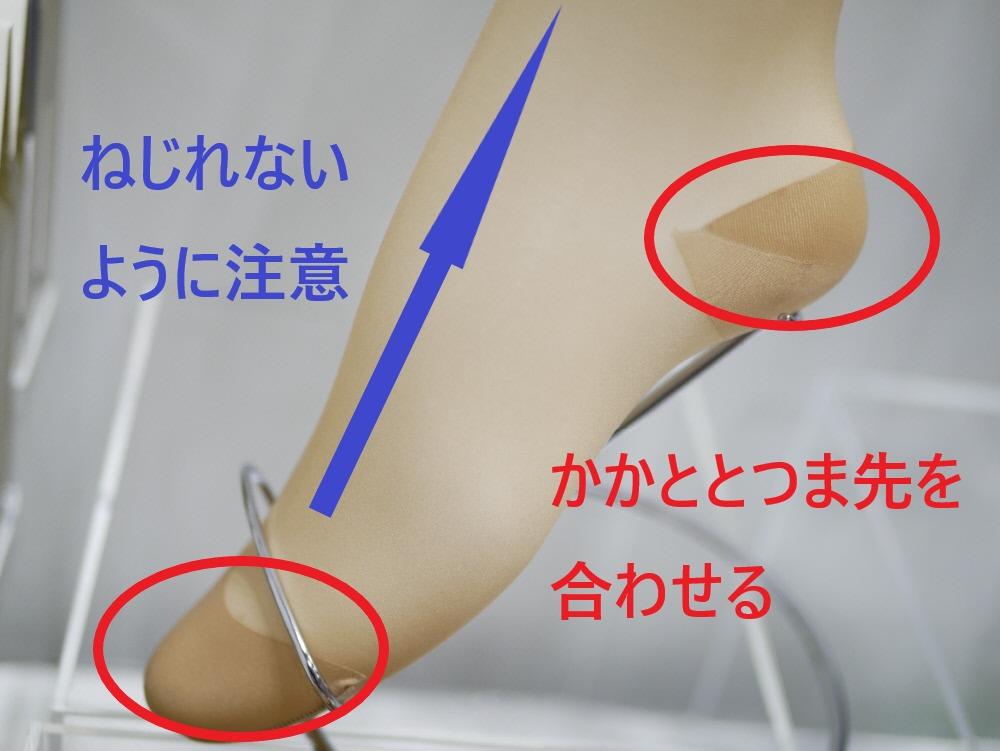 メディカルステイフィットを履くときの2つのポイント