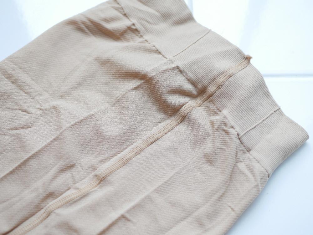 70デニールの丈夫な糸で縫われたメディカルステイフィット